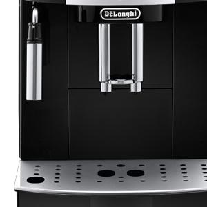 delonghi ecam magnifica s coffee machine black cappuccino genuine new 8004399325067 ebay. Black Bedroom Furniture Sets. Home Design Ideas