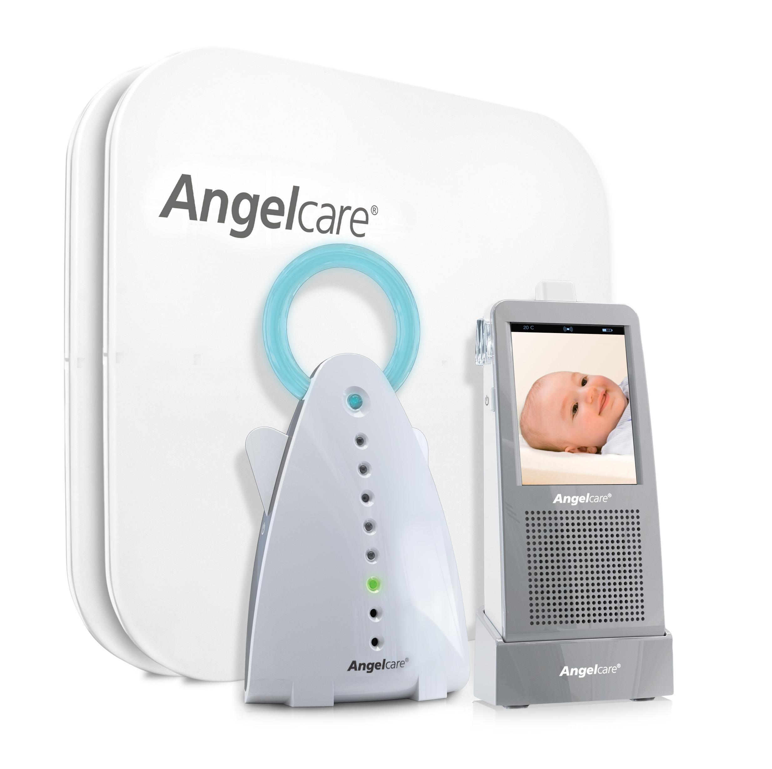 Angelcare Geräusch Und Bewegungsmelder Mit Video-Überwachung Ac1100-d Baby Weiß Sicherheit