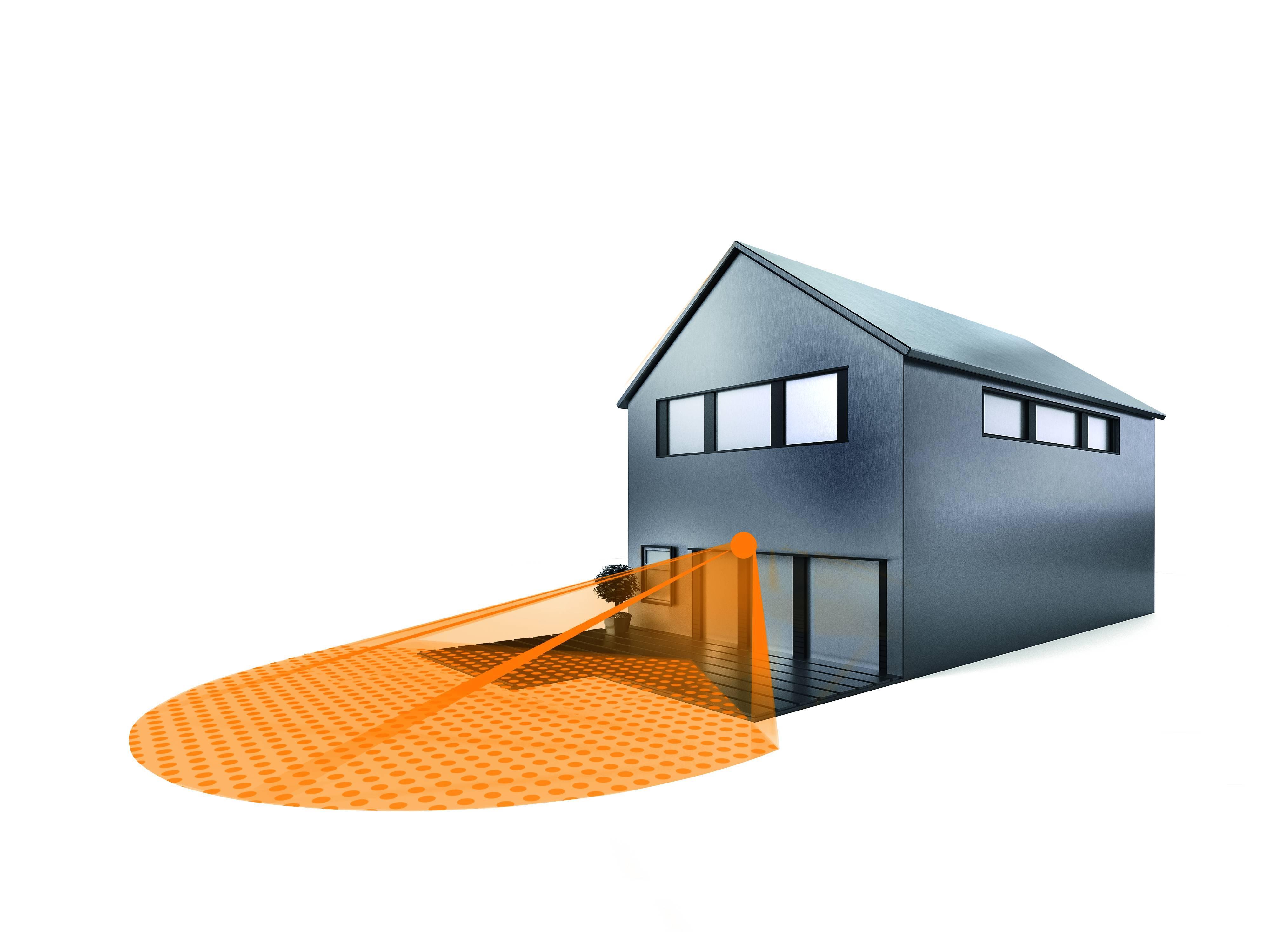 steinel bewegungsmelder is 130 2 silber 130. Black Bedroom Furniture Sets. Home Design Ideas