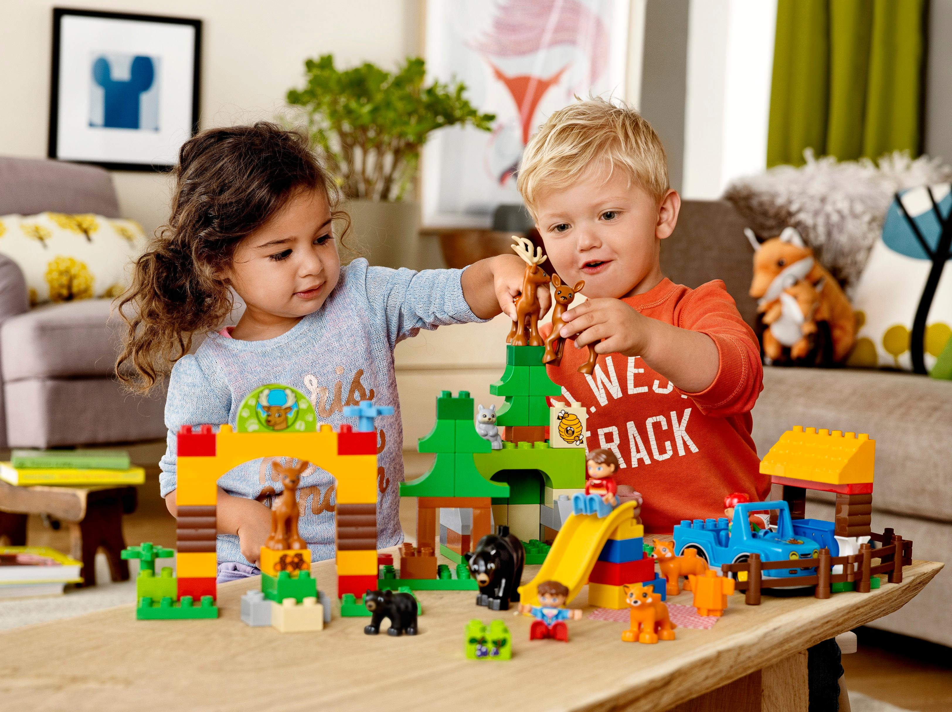 lego duplo 10812 bagger und lastwagen ideales geschenk f r 2 j hrige spielzeug. Black Bedroom Furniture Sets. Home Design Ideas