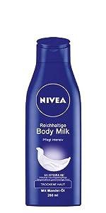 NIVEA Reichhaltige Body Milk (Body Lotion)