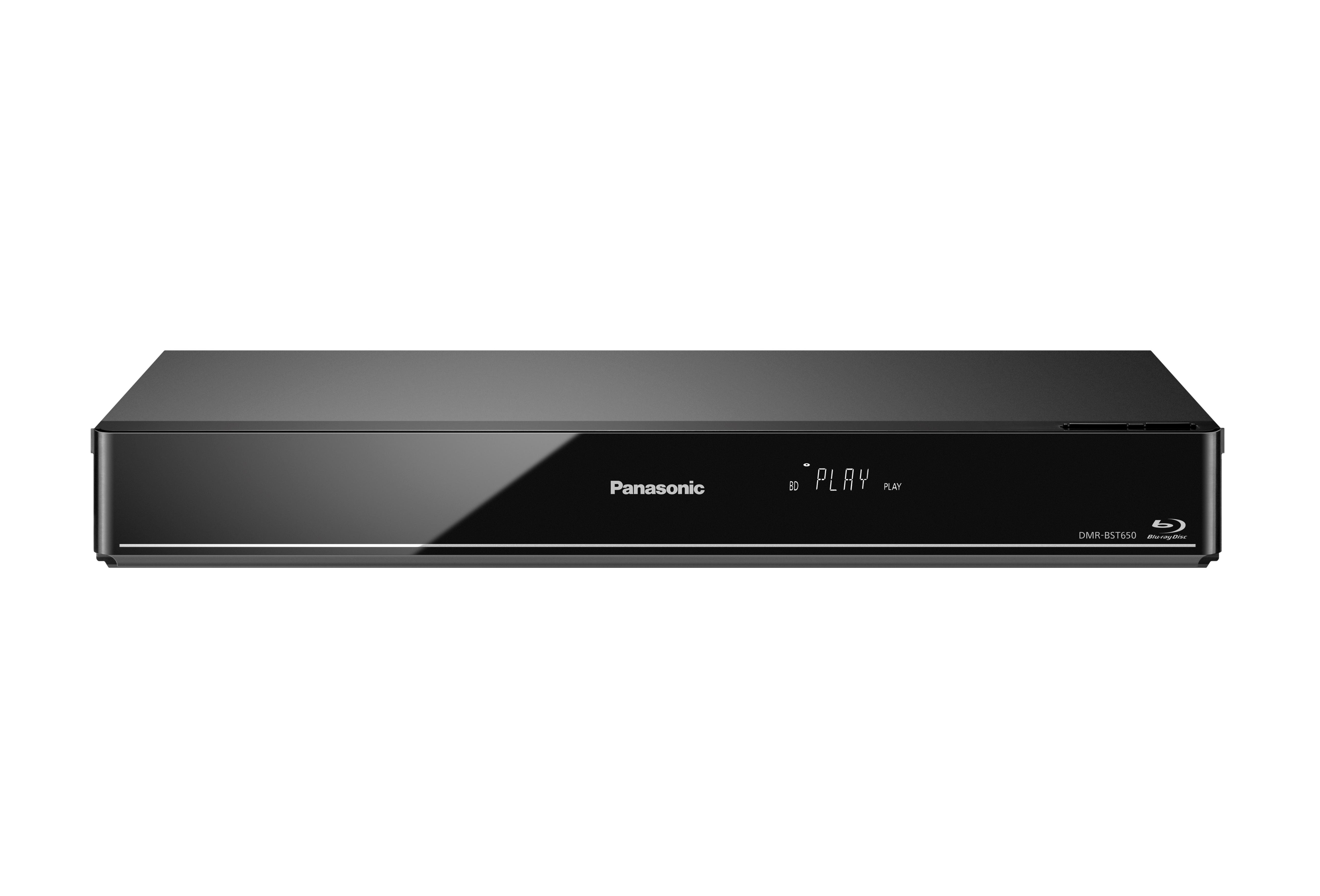 panasonic dmr bct650eg blu ray recorder mit 500 gb. Black Bedroom Furniture Sets. Home Design Ideas