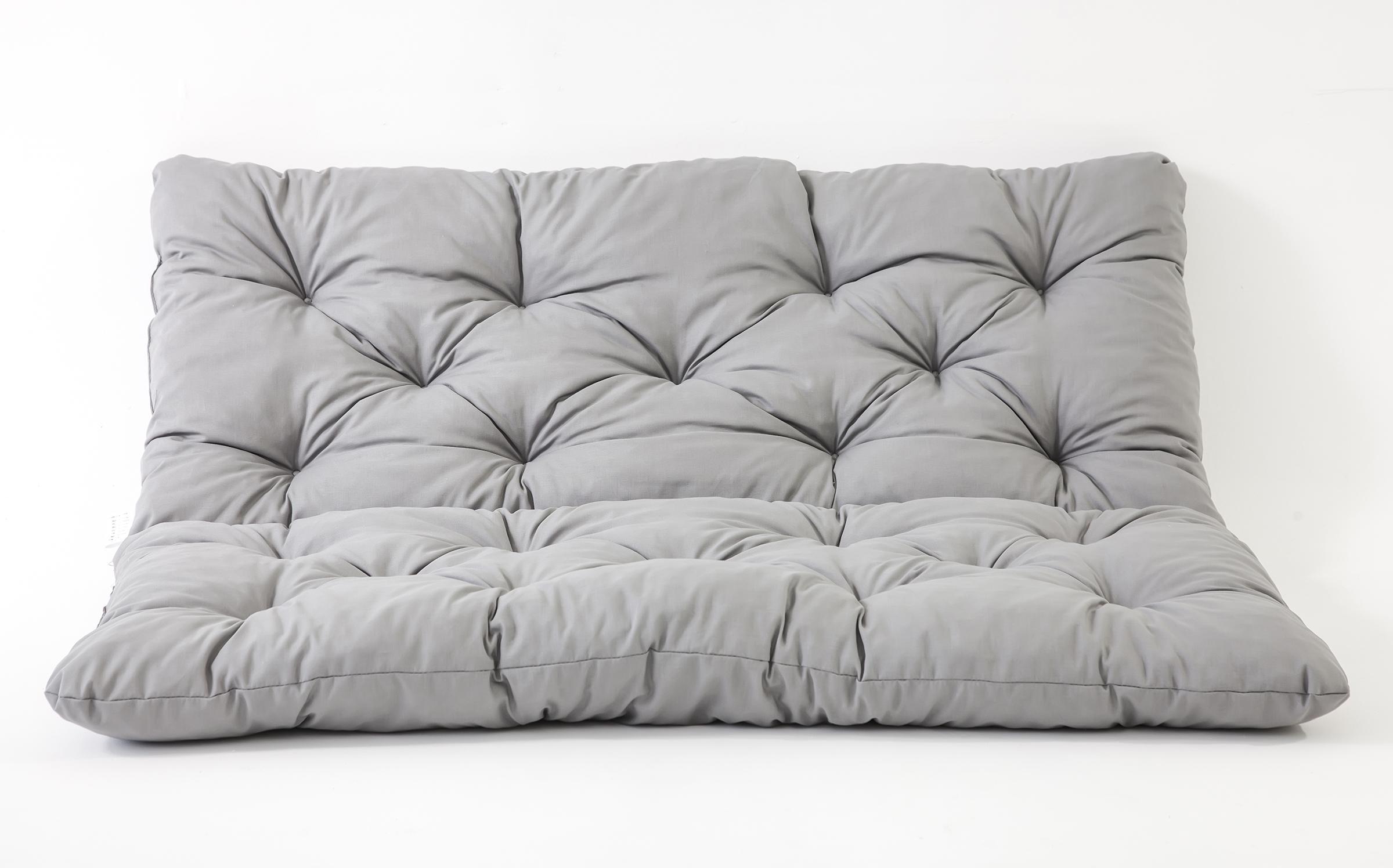 ambientehome 3er bank sitzkissen und r ckenkissen hanko grau ca 150 x 98 x 8 cm bankauflage. Black Bedroom Furniture Sets. Home Design Ideas