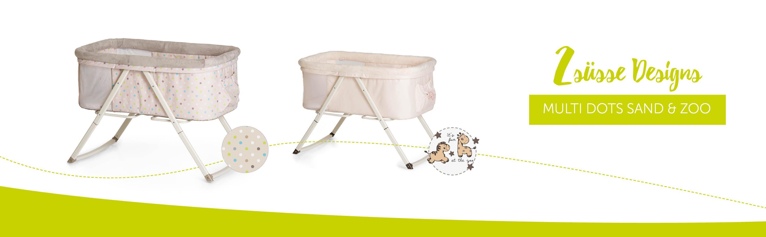 hauck dreamer babywiege stubenwagen beistellbett reisebett inklusive matratze und. Black Bedroom Furniture Sets. Home Design Ideas