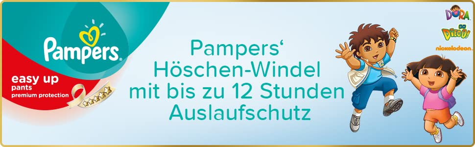 Pampers Premium Protection Easy Up Windeln