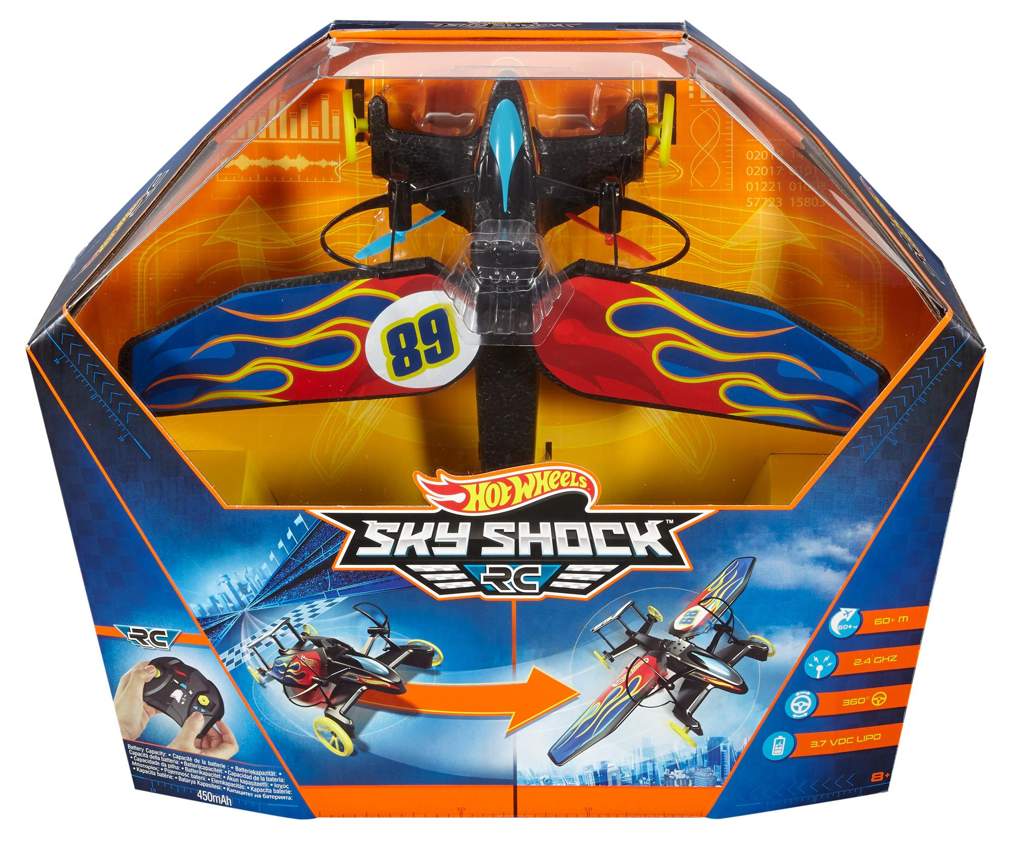 hot wheels sky shock instructions