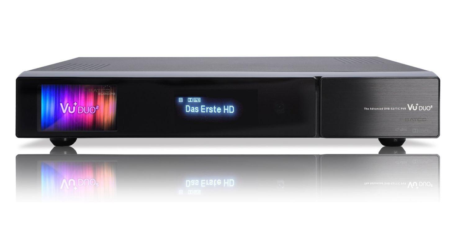 vu duo 2x dvb s2 tuner pvr ready twin linux receiver. Black Bedroom Furniture Sets. Home Design Ideas
