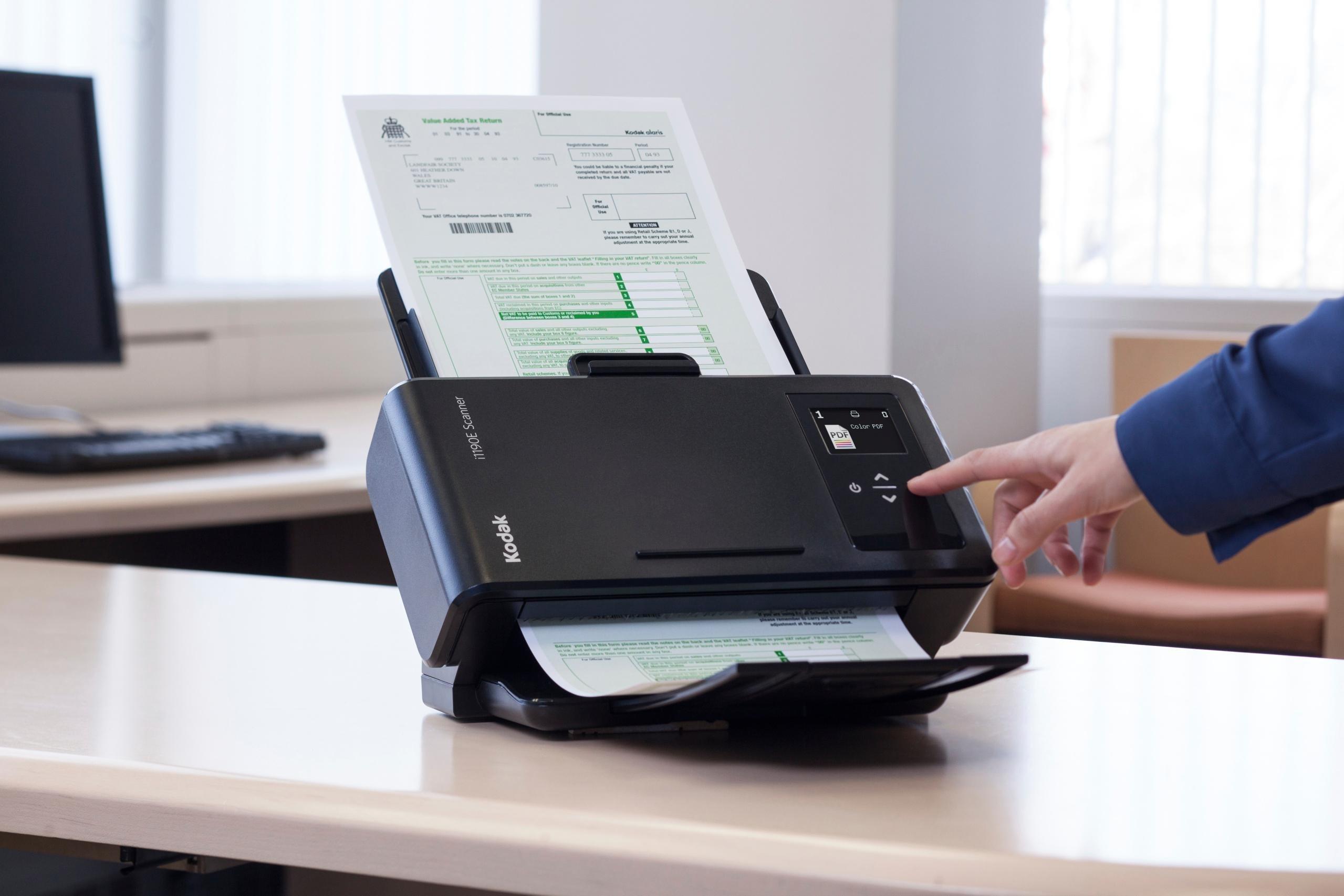Kodak i1190 Scanner DIN A4 Dokumentenscanner mit 40 Amazon