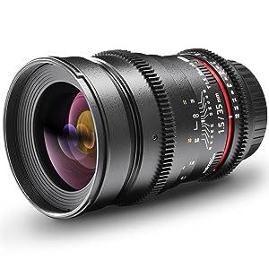 Walimex Pro 35mm 1 1 5 Vdslr Foto Und Videoobjektiv Kamera