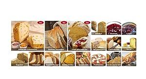 18 unterschiedliche Brotprogramme
