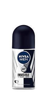 NIVEA MEN INVISIBLE FOR BLACK & WHITE POWER ROLL-ON