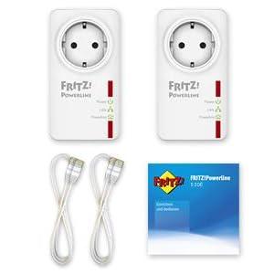 FRITZ!Powerline 530E Set Lieferumfang