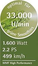 wmf kult pro power green smoothie standmixer 1600 w u min 2 l beh lter 3. Black Bedroom Furniture Sets. Home Design Ideas