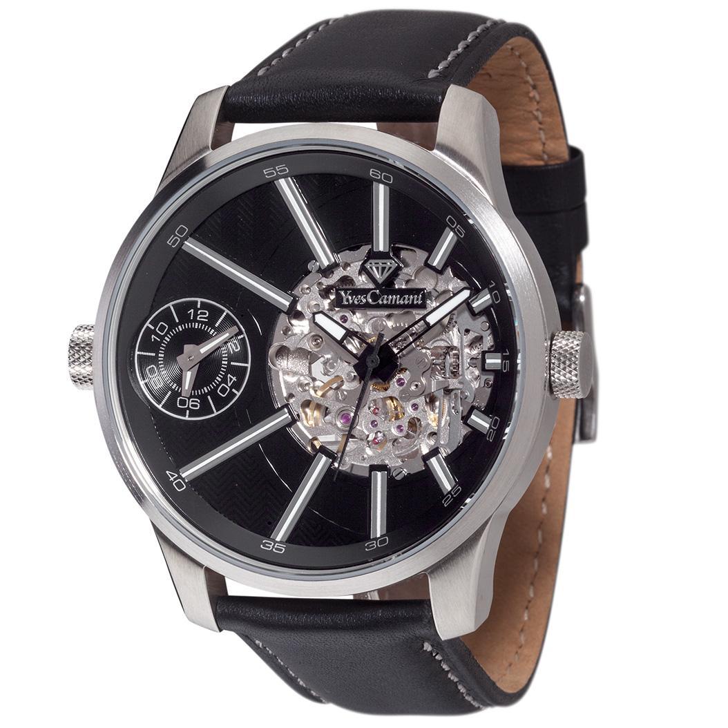 Yves Camani Herren-Armbanduhr Man Dual Time Analog