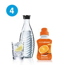 SodaStream Wassersprudler-Set Crystal - mit dem