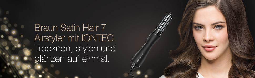 Braun Satin Hair 7 AS 720 Warmluft-Lockenstab mit IONTEC Technologie (inklusive Kamm-und Bürstenaufs