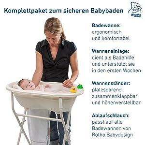 Babybadewanne Rotho Babydesign TOP