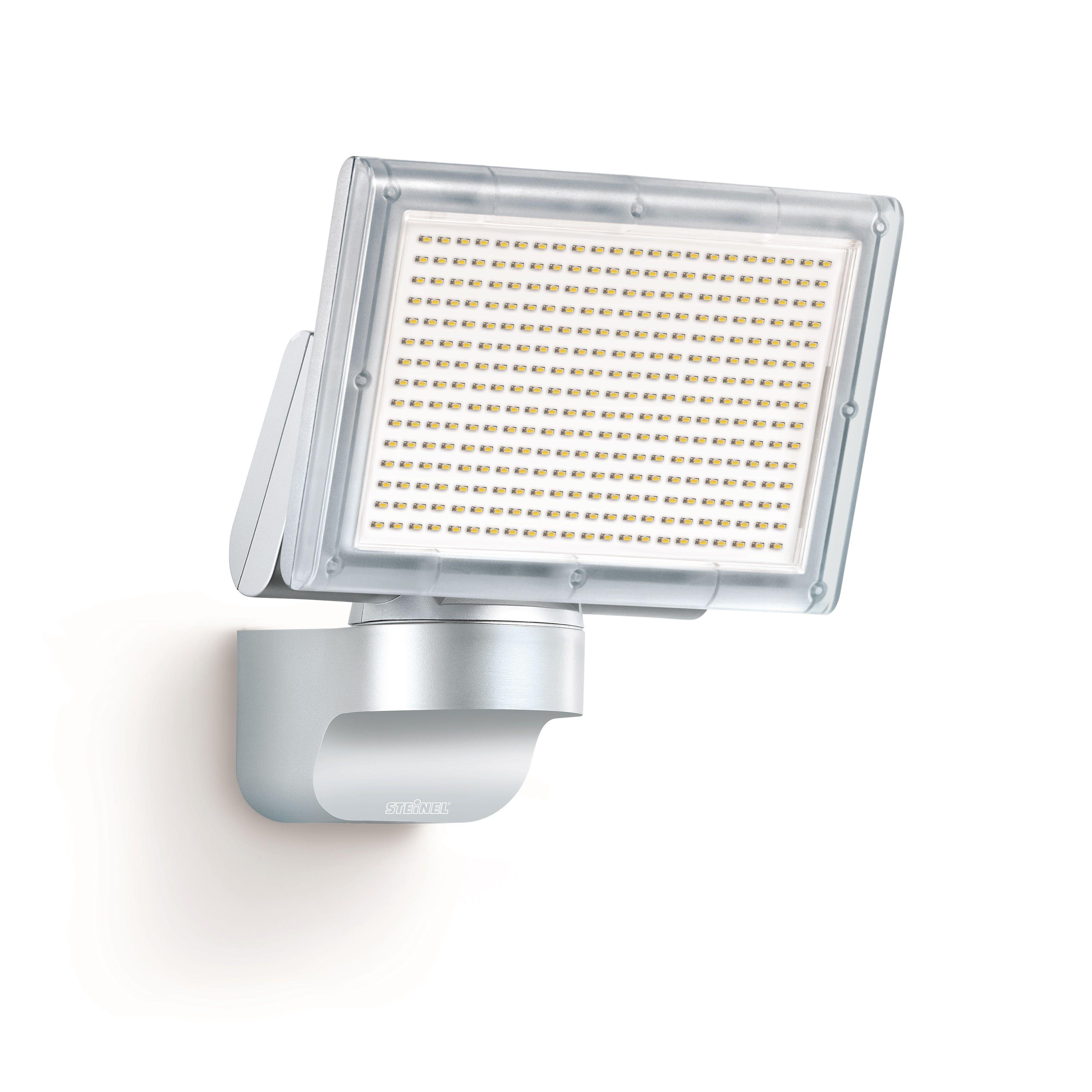 Steinel LED-Strahler XLED Home 1 silber, Scheinwerfer mit 140 ...