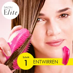 tangle teezer salon elite midnight schwarz 1er pack 1 x 1 stà ck