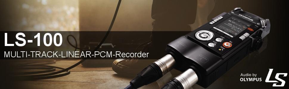 Olympus Ls 100 Multi Track Linear Pcm Recorder Camera Photo