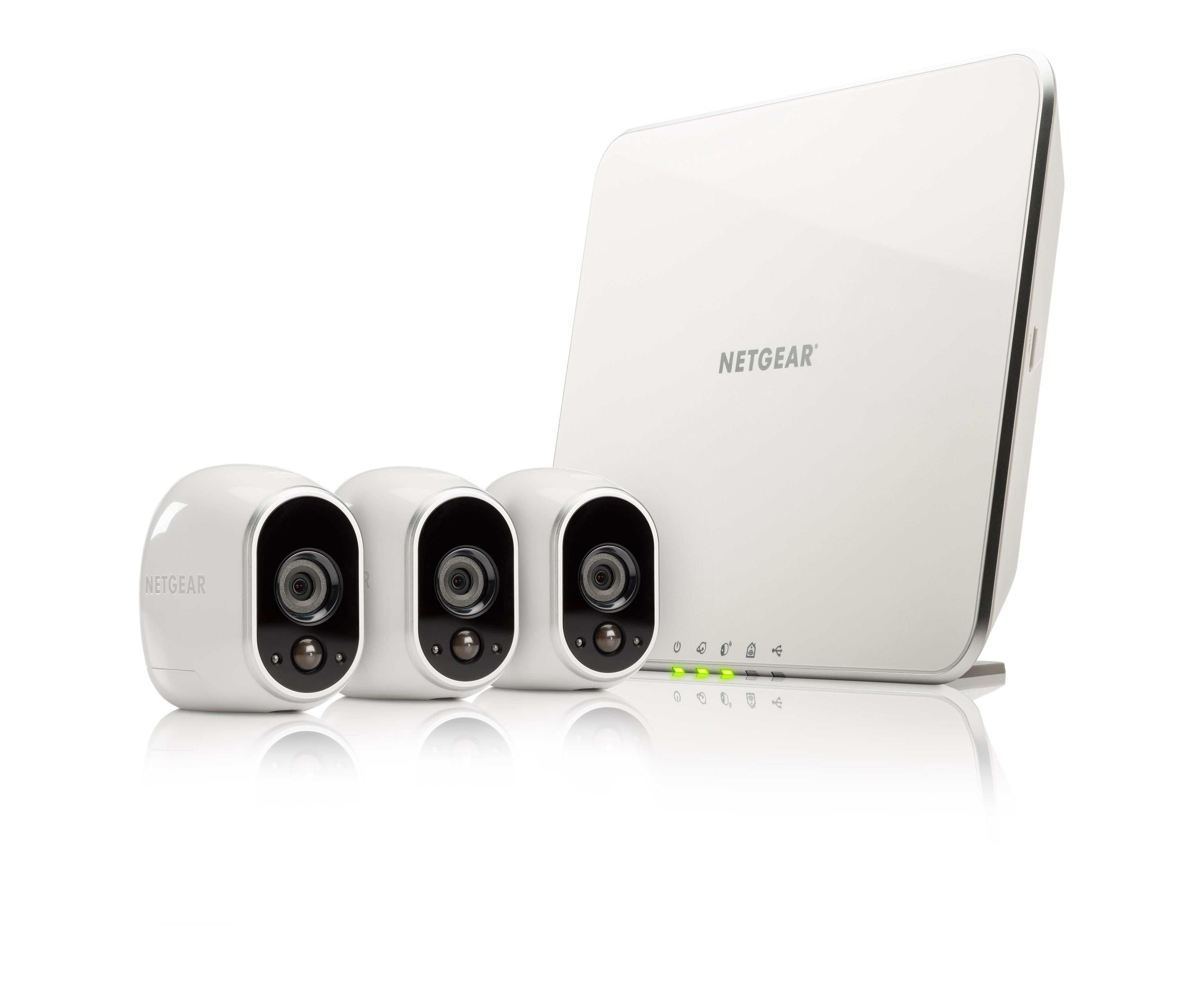 netgear arlo vms3330 100eus smart home 3 hd berwachung kamera sicherheitssystem im test. Black Bedroom Furniture Sets. Home Design Ideas
