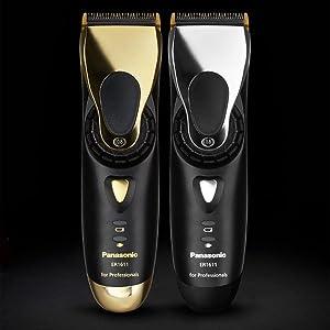 Panasonic Profi-Haarschneidemaschinen ER-1611 und ER-1611 Gold Edition: Bart- und Haarschneider