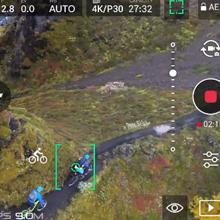 active track DJI P4 Pro