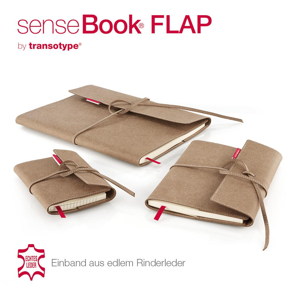 transotype sensebook flap design notizbuch refillable large ca a4 blanko weitere varianten. Black Bedroom Furniture Sets. Home Design Ideas