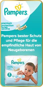 Pampers Premium Protection New Baby Sensitive Windeln