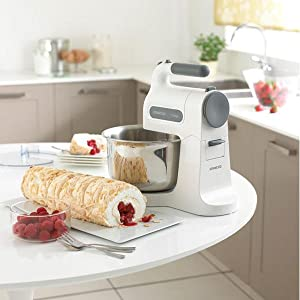 kenwood hm 680 handmixer chefette inkl. Black Bedroom Furniture Sets. Home Design Ideas