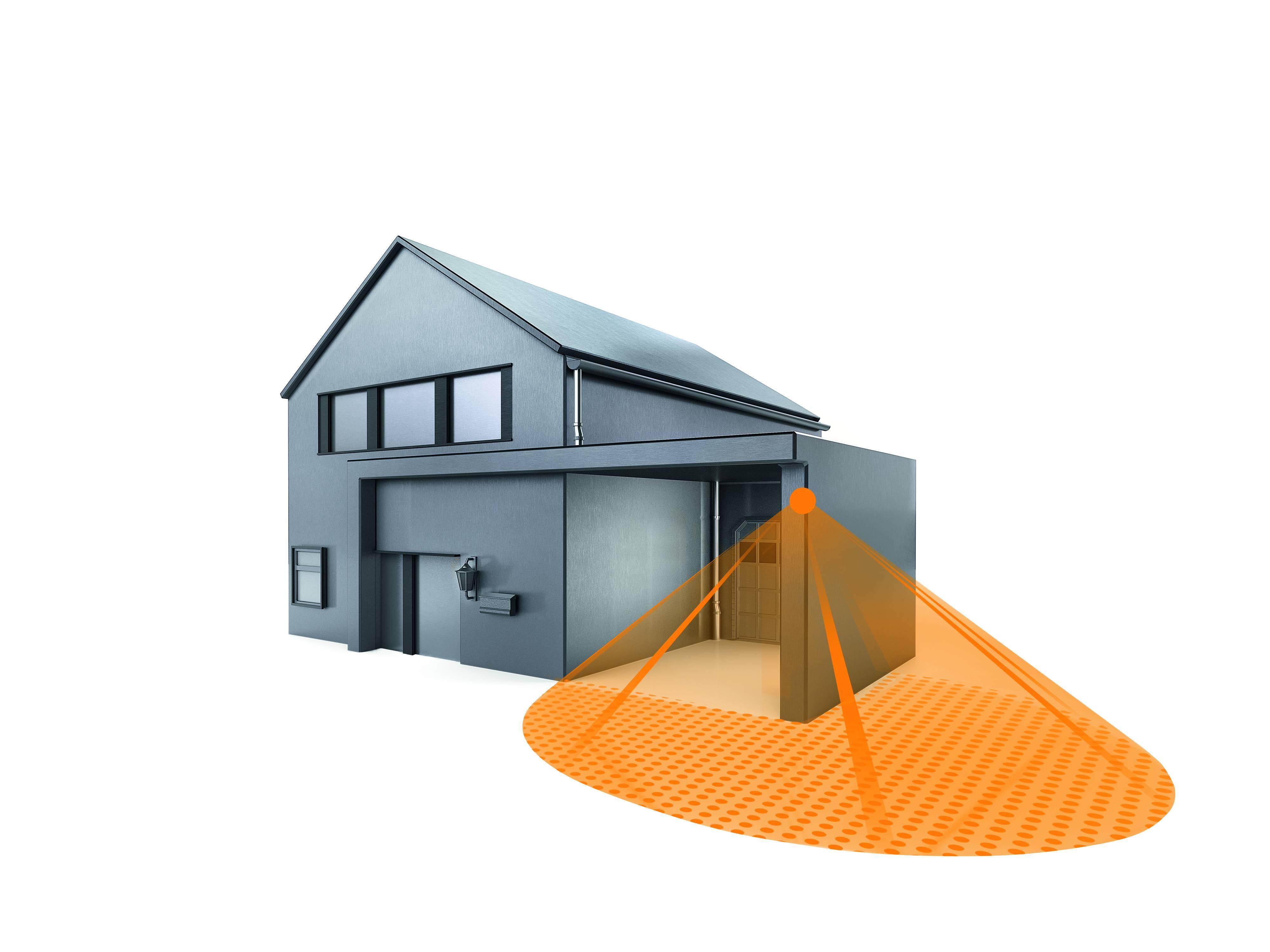 steinel bewegungsmelder is 240 duo schwarz 240. Black Bedroom Furniture Sets. Home Design Ideas