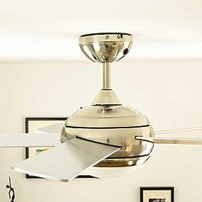 aireryder deckenventilator mit licht und fernbedienung. Black Bedroom Furniture Sets. Home Design Ideas