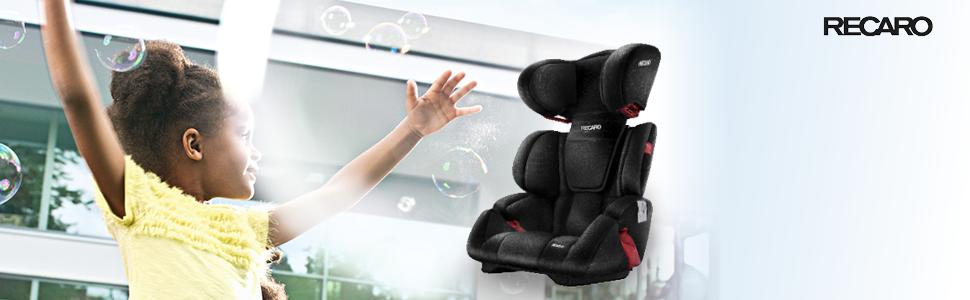 recaro milano autositz 15 36 kg graphite ebay. Black Bedroom Furniture Sets. Home Design Ideas