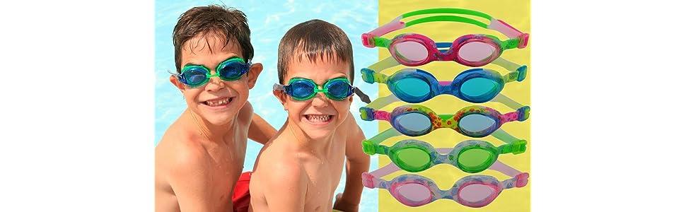 kinderschwimmbrille chlorbrille für kinder kids goggle