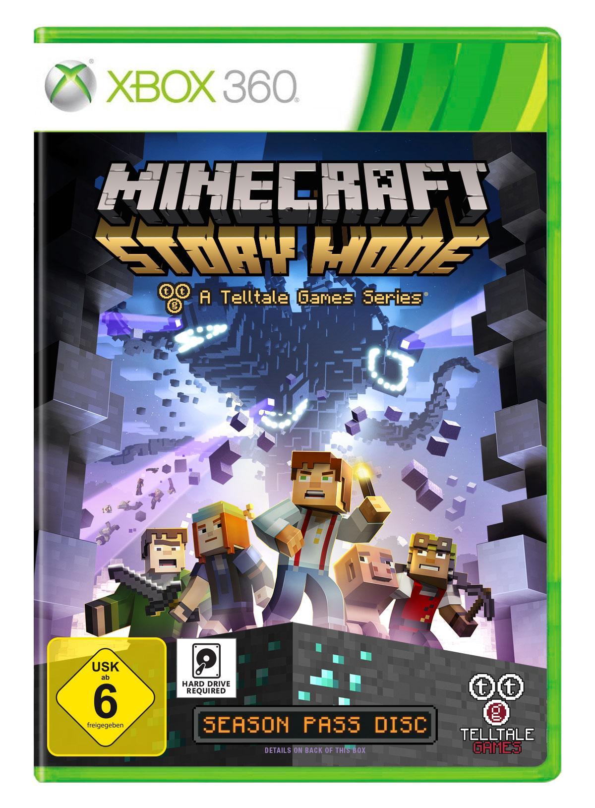 Minecraft Story Mode Xbox Amazonde Games - Minecraft spiele suchen