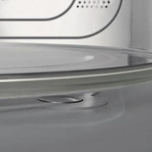bauknecht mw 78 sw mikrowelle mit grill und hei luft 2100 w 30 l garraum quarz grill 1000. Black Bedroom Furniture Sets. Home Design Ideas