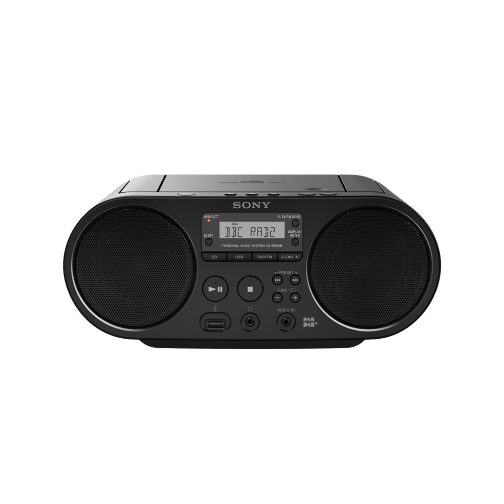 sony zsps55b ced cd usb dab radiorekorder. Black Bedroom Furniture Sets. Home Design Ideas