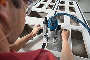 Die After-Lock-Feineinstellung der GOF 1600 CE erlaubt die Feinjustierung auf 1/10 mm genau.