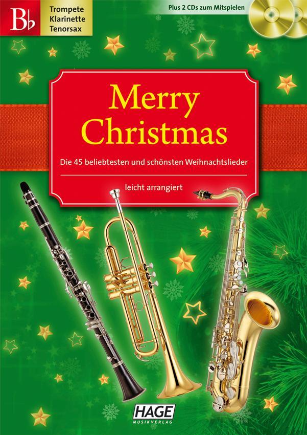 Merry Christmas für B-Instrumente: Die 45 beliebtesten und schönsten ...