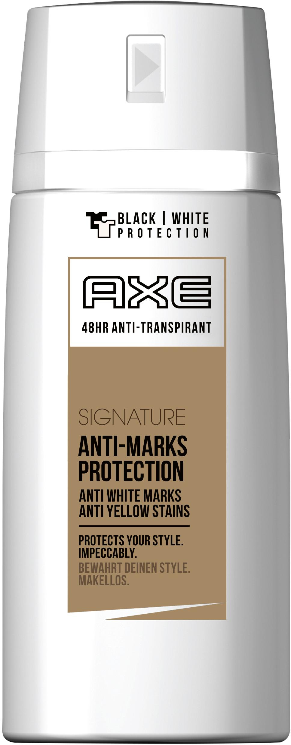 axe deospray signature anti transpirant 6er pack 6 x 150 ml beauty. Black Bedroom Furniture Sets. Home Design Ideas