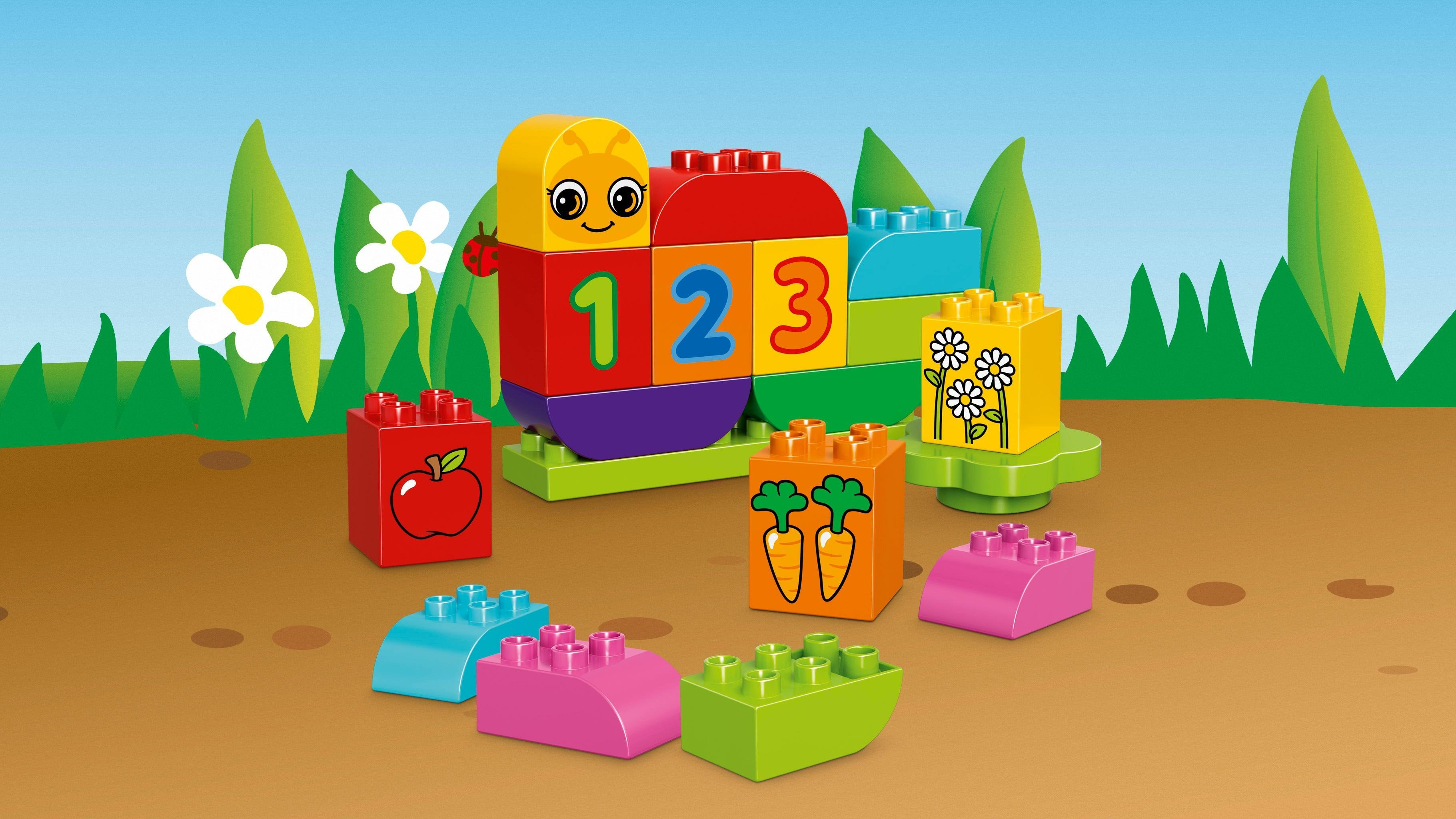 LEGO Duplo 10831 - Meine erste Zahlenraupe: Amazon.de