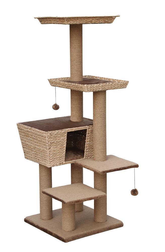 nobby kratzbaum motega f r katzen beige haustier. Black Bedroom Furniture Sets. Home Design Ideas
