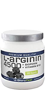 300 Kapseln L-Arginin