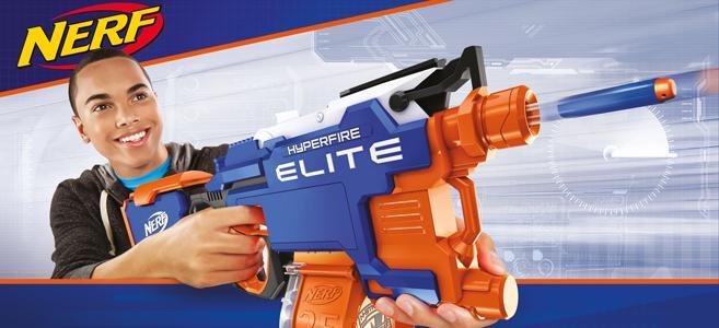 Hasbro NERF B5573 HYPER Fire Blaster N-strike Elite günstig kaufen Spielzeug für draußen Spielzeug-Bogen, -Armbrust & -Dart