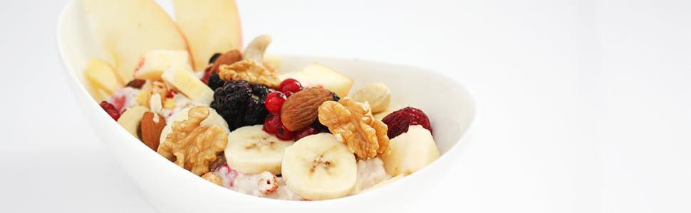 Müsli mit Protein Joghurt