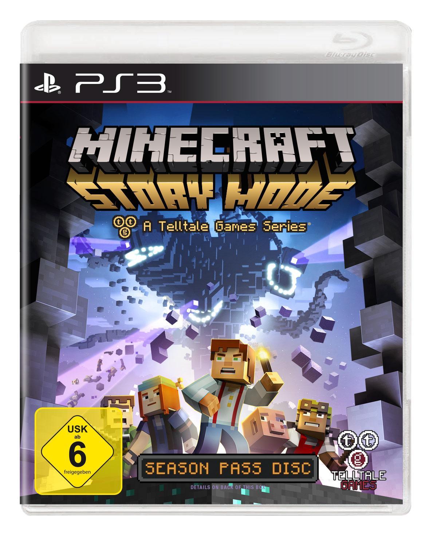 Minecraft Story Mode PlayStation Amazonde Games - Minecraft zusammen spielen ps3