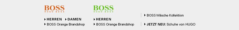 BOSS Orange und BOSS Green Brandshop: Bekleidung, Schuhe, Taschen, Uhren und Accessoires
