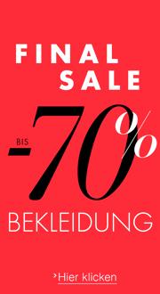 Sale Bekleidung