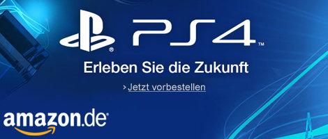 Teaser Bild für Amazon Special: Playstation 4: Jetzt vorbestellbar
