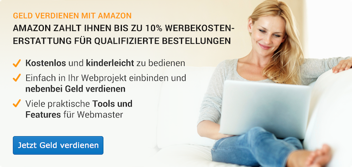 Make money by linking to Amazon